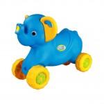 Каталка детская Слоненок голубой