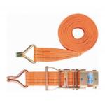Ремень багажный с крюками, 6*0,05м, храповой механизм STELS (54385)
