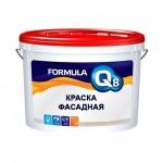 Краска фасадная FORMULA Q8 5 кг белосн. полиакрил/3/
