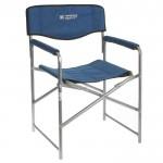 Кресло складное 490*550*820 цвет синий