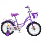 Велосипед 16 Graffiti Premium Girl сиреневый/роз