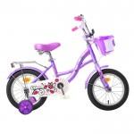 Велосипед 14 Graffiti Premium Girl сиреневый