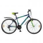 Велосипед 26 Foxx Atllantic синий/зеленый р.18