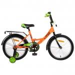 Велосипед 18 Novatrack Vector оранжевый