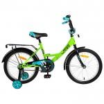 Велосипед 18 Novatrack Vector лайм