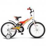 Велосипед 18 Stels Jet белый/красный
