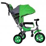 Велосипед 3-х колесный Лунтик Малют 1 зеленый