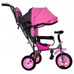 Велосипед 3-х колесный Лунтик Малют 1 розовый