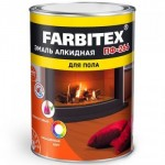 Эмаль ПФ-266 желто-коричневая 1,8кг/6шт FARBITEX