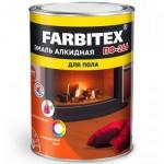 Эмаль ПФ-266 желто-коричневая 10кг FARBITEX