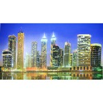 Мозаика Вечерний Дубай 3D1002*602 Панель ПВХ