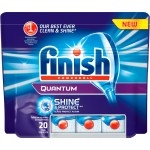 Таблетки FINISH QUANTUM PowerBall  д/посудомоечных машин 20шт.