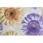 Кафель Зеландия 200*300*7 декор цветы/20