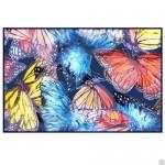 Коврик для ванной 50*80 фотопринт бабочки