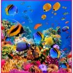 ФОТОобои 196*201см Морские глубины 6л