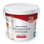 Эмаль акриловая д/радиатор.бел.1кг/OLEKOLOR