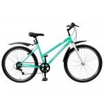 Велосипед 26 Progress Ingrid Low бирюзовый, размер 15