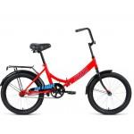 Велосипед 20 Altair CITY красный/голубой