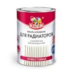 Эмаль алкидная д/радиатор.бел.0,9 кг/Ole Color/14шт