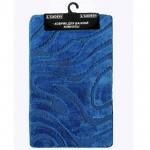 """Коврик для ванной 60*100 см 3014 голубой """"L'CADESI LEMIS"""""""
