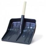 Лопата снеговая пласт. с черенком 420*400 АП075