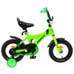 Велосипед 14 Graffiti SPECTOR неоновый зеленый