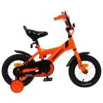Велосипед 14 Graffiti SPECTOR неоновый оранжевый