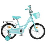 Велосипед 16 Graffiti Premium Girl мятный/бел