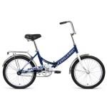 Велосипед 20 Forward Arsenal темно-синий/серый р14