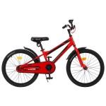 Велосипед 20 Graffiti Deft красный/черный