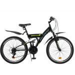 Велосипед 24 Progress Sierra FS RUS черный р15