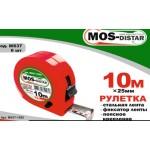 Рулетка 10м х 25мм MOS-DISTAR
