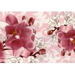 Клеенка Декомир  38-1 н/о 1,32*20м Орхидея ванда розовый