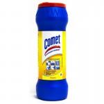 Чистящий порошок Комет 475г с дез.св. Лимон с хлоринолом /банка/